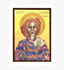 [Icon] St. Josephine Bakhita Art Print
