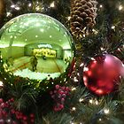 Self Portrait in the Bulb of J.C. Penny's Xmas Tree by Jack McCabe