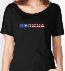 Boricua Star Women's Relaxed Fit T-Shirt