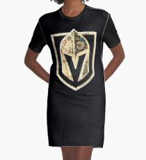 FLORALS - Golden Knights Graphic T-Shirt Dress