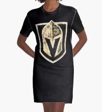 FLORALS - Goldene Ritter T-Shirt Kleid
