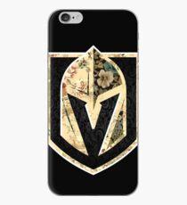 Vinilo o funda para iPhone FLORALES - Golden Knights