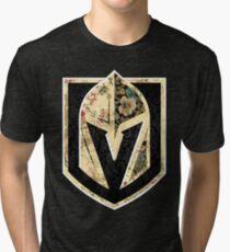 FLORALS - Golden Knights Tri-blend T-Shirt