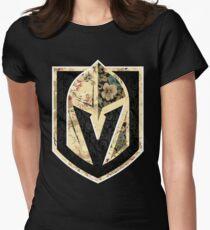 FLORALS - Golden Knights Women's Fitted T-Shirt
