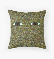 Flying lotus Throw Pillow