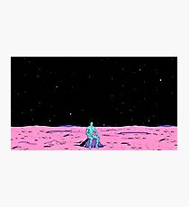 Dr. Manhattan sitting on mars (comic) Photographic Print