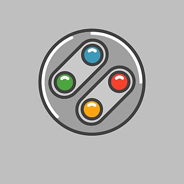 SNES Controller Icon by vladmartin
