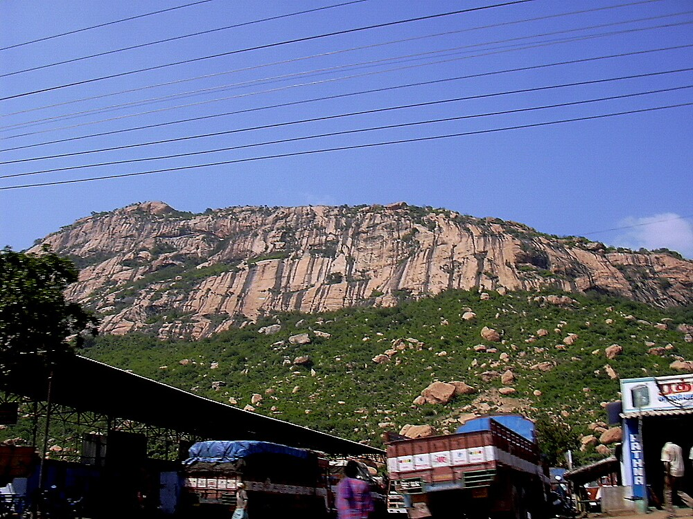 busy under hill by pugazhraj