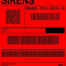 SIRENS (LABEL - BLACK TEXT) by bearra