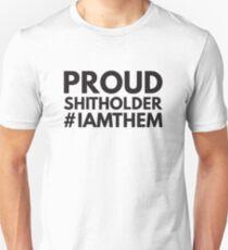 Proud Shitholer #IAMTHEM Anti Racism Unisex T-Shirt