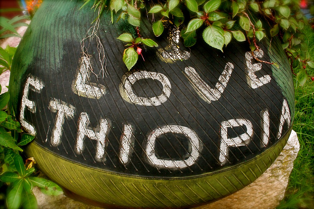 I Love Ethiopia by Kelly Putty