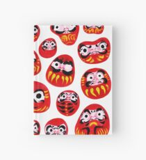 Japanese Daruma Characters Hardcover Journal