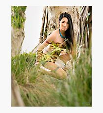 Battle Pocahontas v.2 Photographic Print