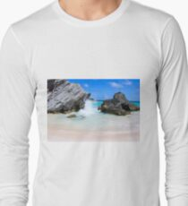 Bermuda, Pink Sand Beaches, Blue Ocean Long Sleeve T-Shirt