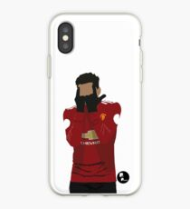 Jesse Lingard Minimalist Art // Phone cases, t-shirts, stickers and more iPhone Case