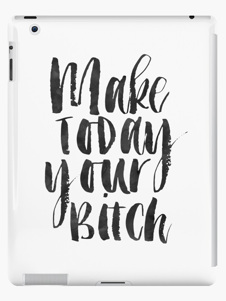 Make Today Your Bitchrelax Signmeditation Quotefunny Printhome Decor Calligraphy