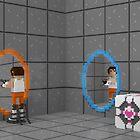 Pixel Portal by Dan Shaw