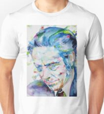 ALAN WATTS - watercolor portrait.7 Unisex T-Shirt