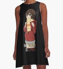Waifu Inspired Anime Shirt A-Line Dress