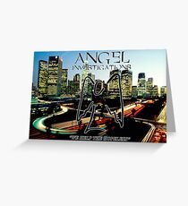 Angel Investigations Greeting Card