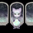 Mystic Miku | Crystal Ball & Zodiac | Black by LolitasAdorned