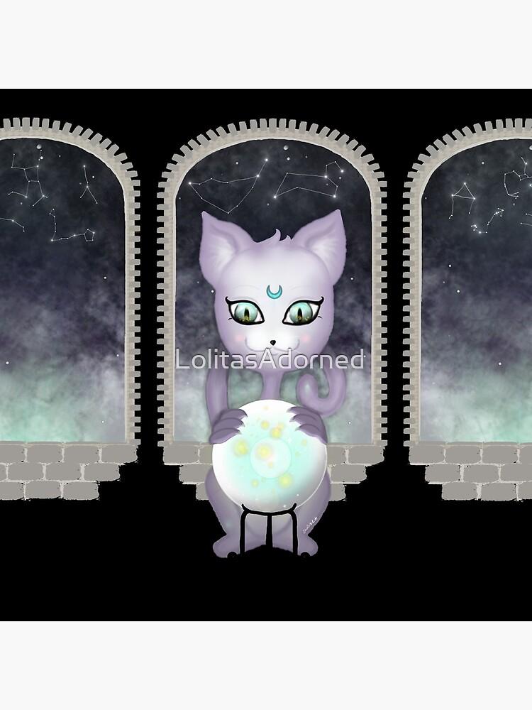 Mystic Miku   Crystal Ball & Zodiac   Black by LolitasAdorned