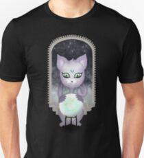 Mystic Miku | Crystal Ball & Zodiac | Black Slim Fit T-Shirt
