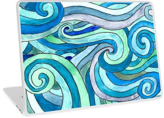 «Watercolour waves» de imaginadesigns