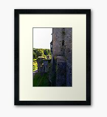 From the battlements Framed Print