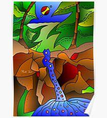 Araluen Falls Poster