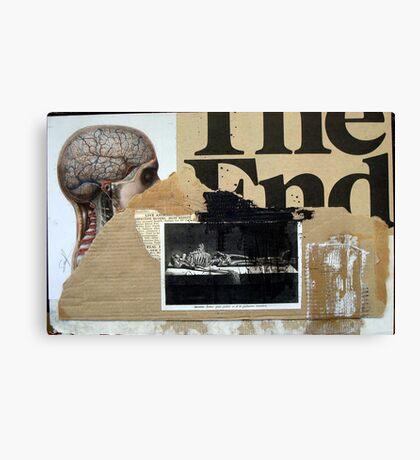 PRINCIPIO Y FIN (begin and end) Canvas Print