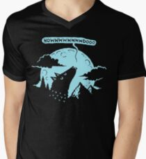 Nothern Wolf Men's V-Neck T-Shirt