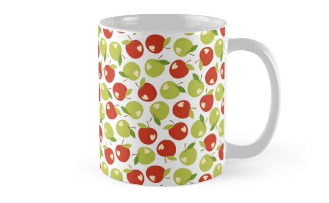 Bitten apples by petitspixels