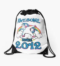 Awesome since 2012 Drawstring Bag