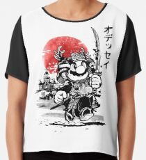 Samurai Mario Odyssee Chiffontop