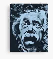 Genius I Am - Albert Einstien Canvas Print