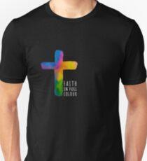 Faith in Full Colour - white Unisex T-Shirt