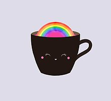 Rainbow in my cup by siolin