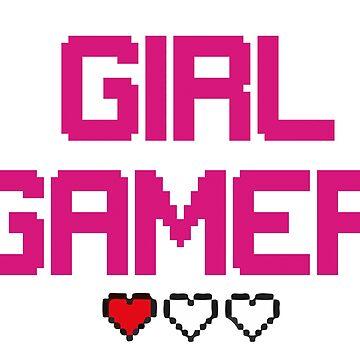 Girl Gamer  by diffy2009