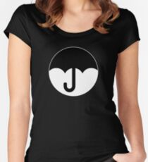 Umbrella Women's Fitted Scoop T-Shirt