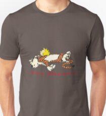 Calvin And Tiger Sleep Unisex T-Shirt