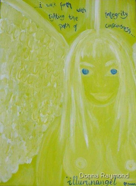 """illuminangel""-08  by Donna Raymond"