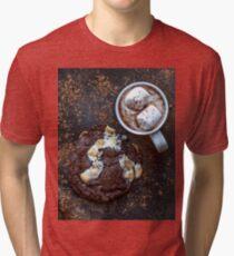 Hot chocolate cookie Tri-blend T-Shirt