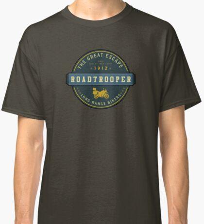 Motorcycle Adventurer Carl Stearns Clancy T-Shirt -  Design 2 Classic T-Shirt