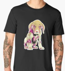 German Shorthair Pointer Puppy Men's Premium T-Shirt