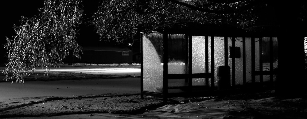 bus stop by Thanks! Impostor