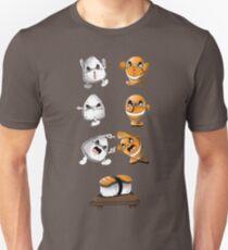 Camiseta unisex Fusión de sushi