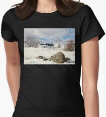 scottish highlands  Women's Fitted T-Shirt