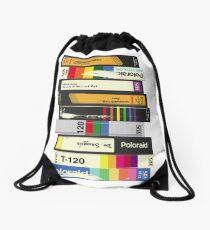 Video Tape 80's Style Drawstring Bag