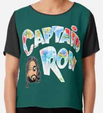 Captain Ron Chiffon Top